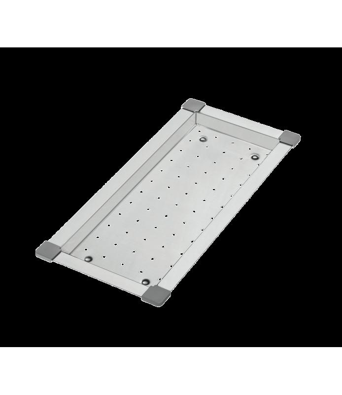 VAS15 Vassoio in acciaio inox 433x196x26 mm | Home