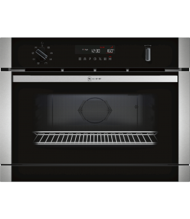 NEFF C1APG64N0 Forno Compatto Microonde FullSteam - Display Bianco