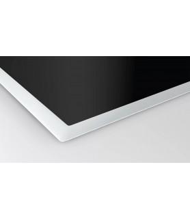 NEFF T68BT6QN2 Piano ad Induzione 80 cm - In Vetroceramica, Cornice in Acciaio, Home Connect, 2 Zone Flex e Twistpad®   Piani cottura