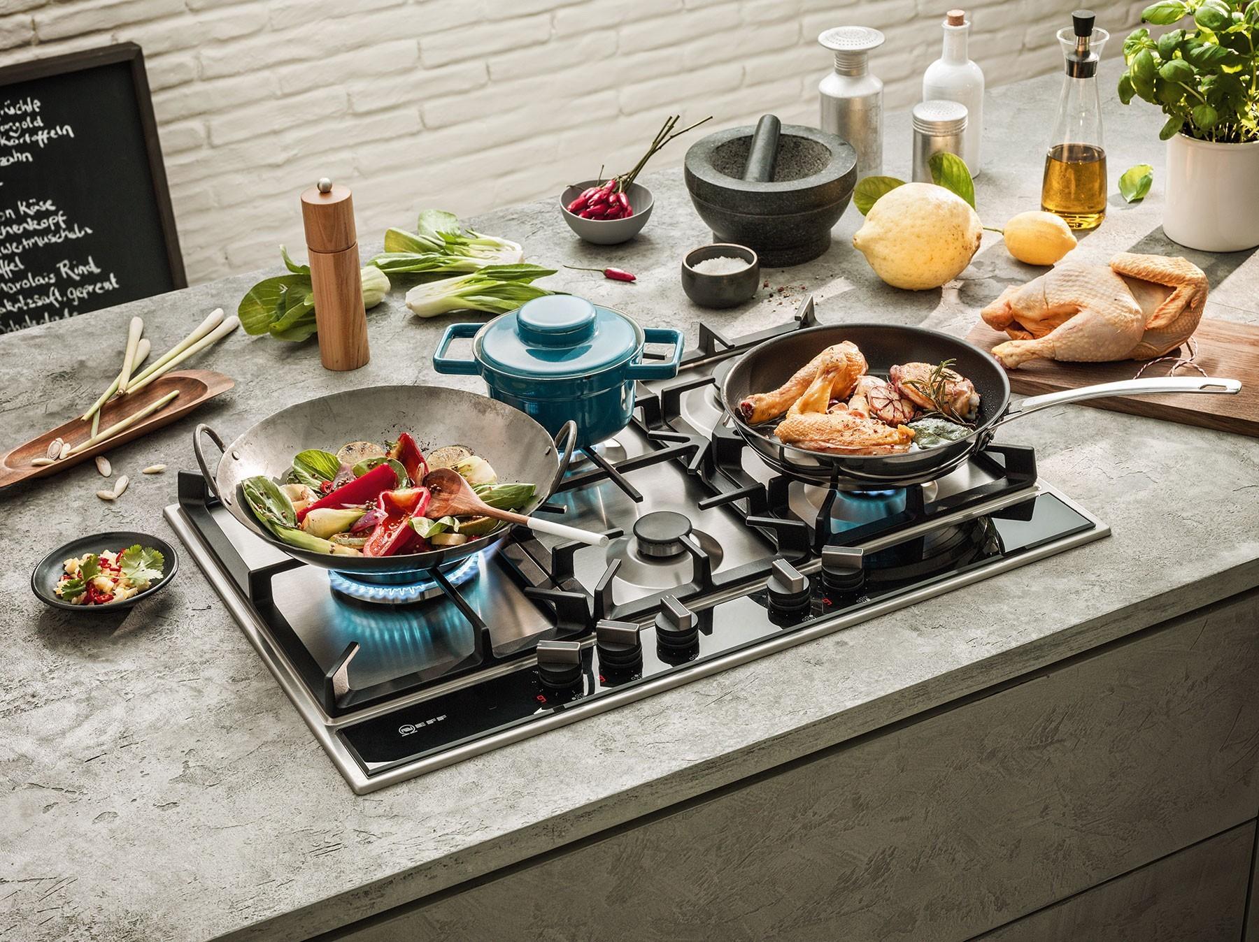 Piani Cottura NEFF:  Il piano cottura ideale per ogni stile di cucina